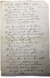 A Bell Letter