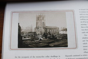 Haworth Churchyard from Anne Dinsdale's book  2015